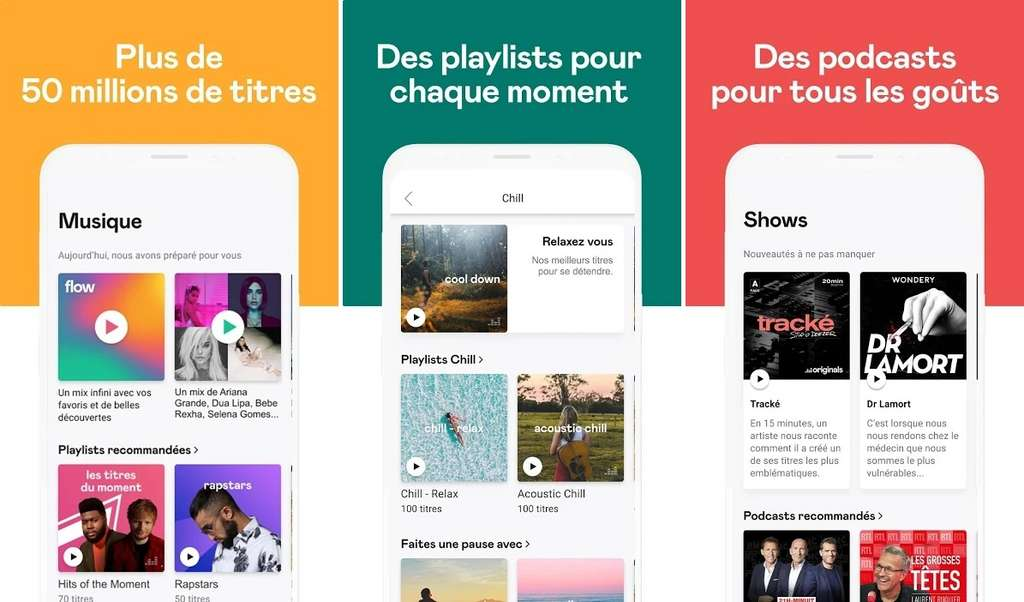 Deezer est une plateforme française d'écoute musicale en streaming © Deezer