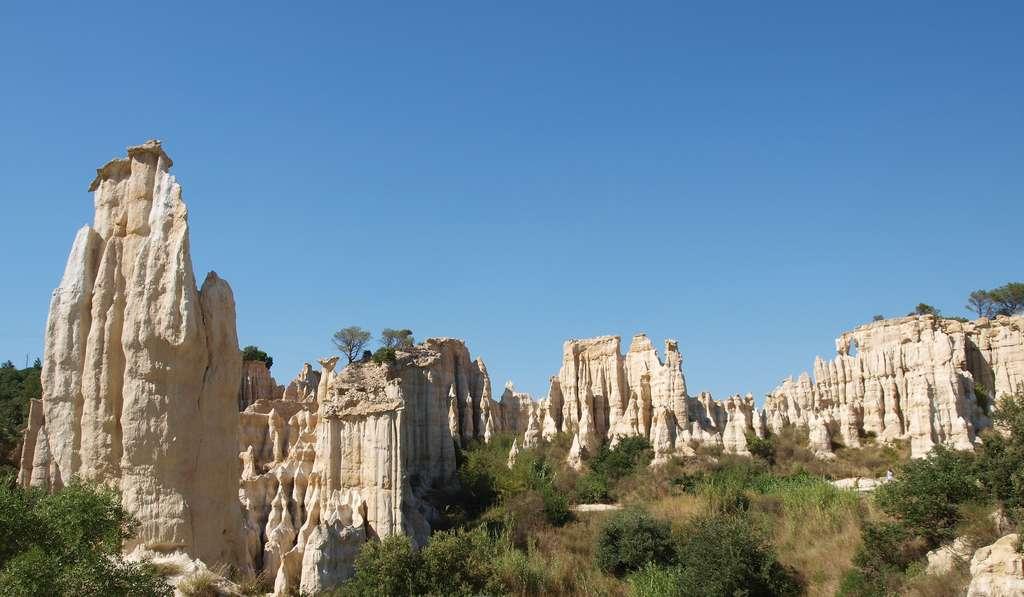 Les Orgues d'Ille-sur-Têt comme en Cappadoce. © Klaas Brumann, Flickr