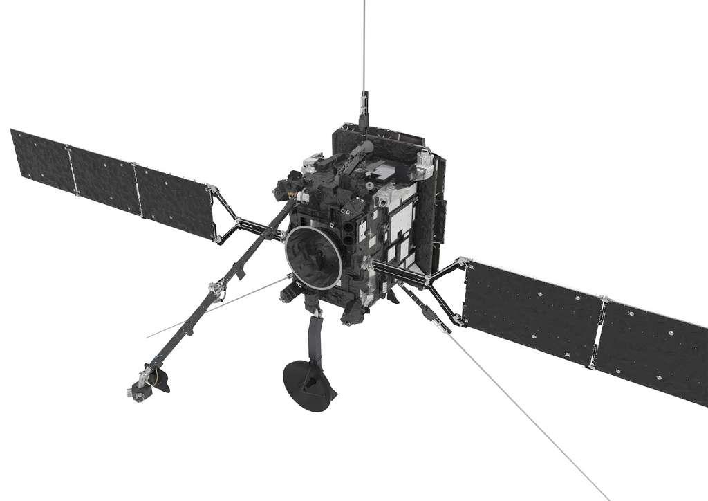Solar Orbiter dispose de 10 instruments de mesure in situ et de télédétection qui collecteront photos et spectres, mesureront le plasma du vent solaire, les champs, les ondes et les particules énergétiques à proximité du Soleil. © ESA, ATG Medialab