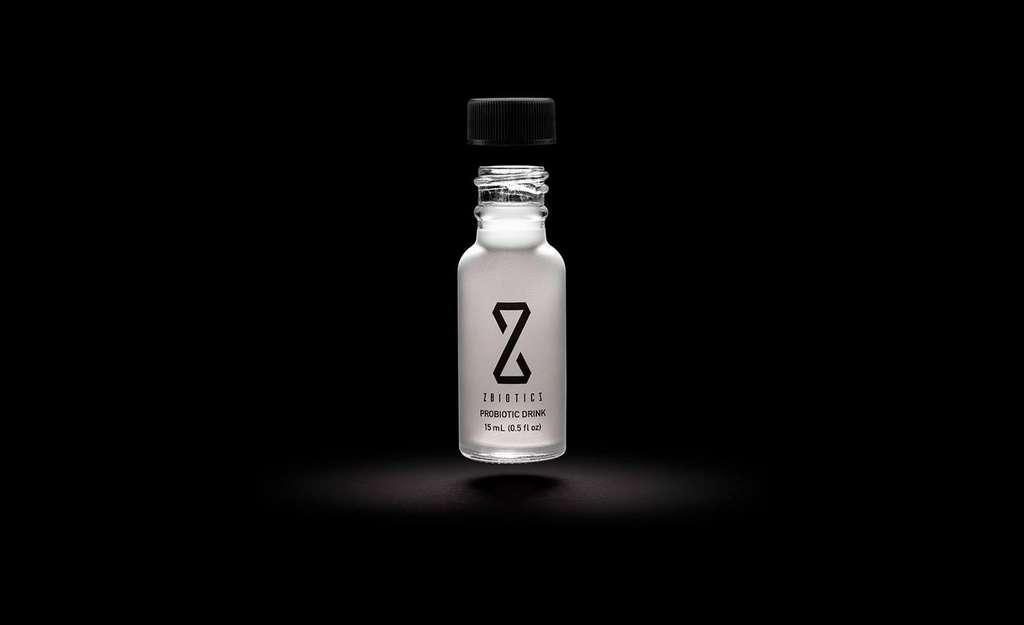 Une boisson probiotique OGM fabriquée par la startup ZBiotics qui a modifié une souche de Bacillus subtilis © ZBiotics