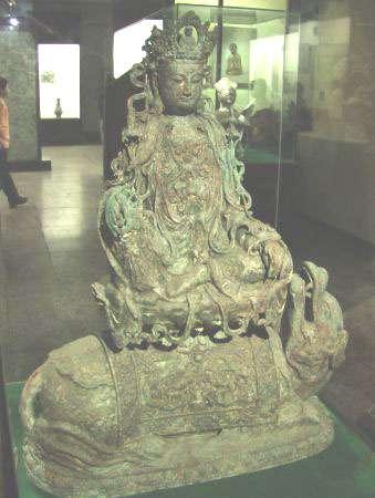 Statue bouddhiste. © DR