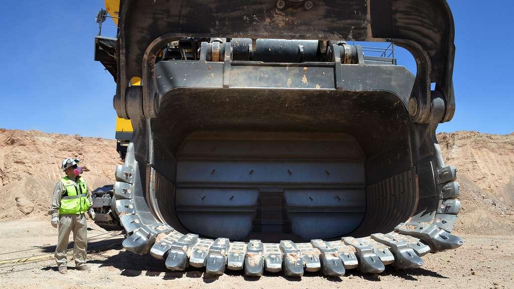 Les mines de cuivre de Radomiro Tomic, au Chili