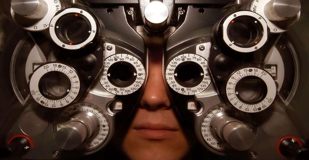 Examen ophtalmologique. © Skeeze, Pixabay, DP