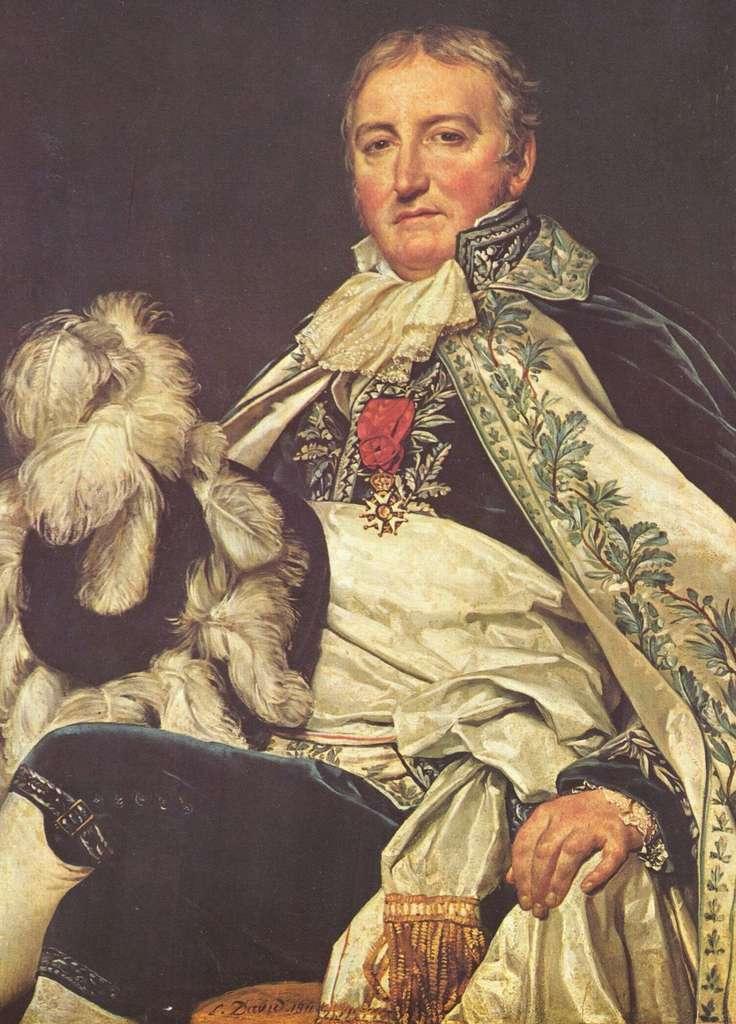 Portrait du préfet et comte d'Empire Antoine Français par Jacques-Louis David en 1811. Musée Jacquemart-André, Paris. © Wikimedia Commons, domaine public
