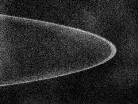 Vue sur l'anneau de Jupiter le 28 février 2007. Crédit Nasa