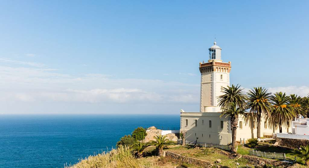 Phare du Cap Spartel, nord du Maroc. © Diego Delso, Wikimedia commons, CC by-sa 4.0