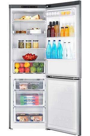 Réfrigerateur-congelateur en bas SAMSUNG RB30J3000SA SILVER © Darty