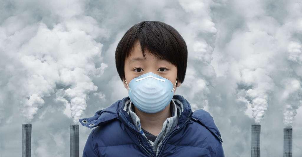 Les enfants sont particulièrement vulnérables à la pollution de l'air, en France et dans le monde. © Hung Chung Chih, Shutterstock
