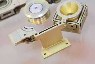 Un amortisseur destiné à l'industrie spatiale et utilisant le caoutchouc Smactane. © Smac