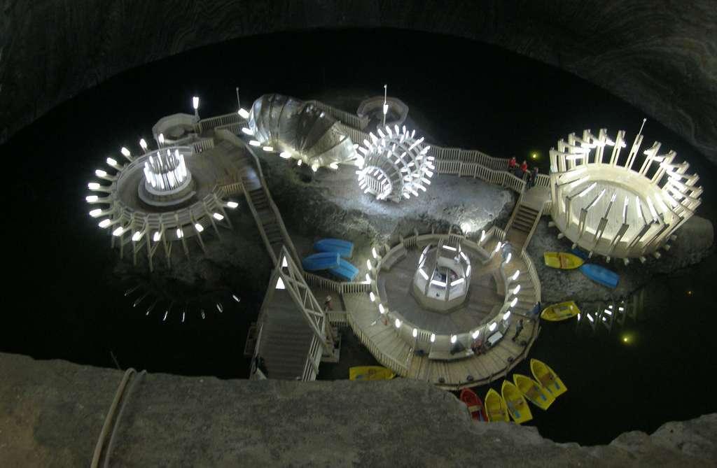 La mine de sel de Turda, déjà exploitée par les Romains