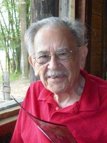 Ralph Alpher (1921-2007) photographié ici en 2006 (Crédit : Union College).
