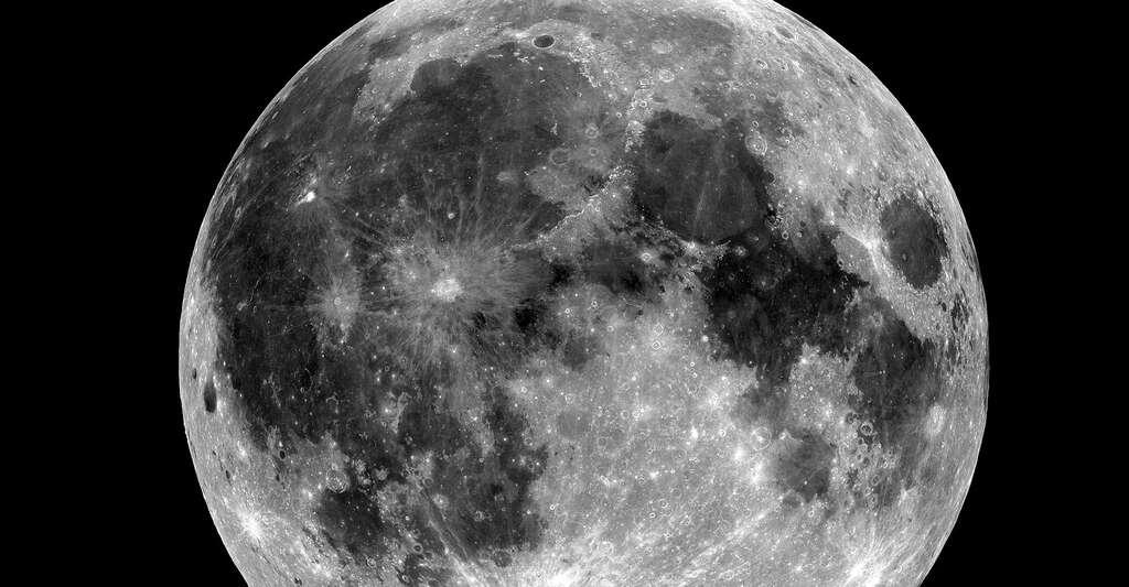 Vue de la Lune. © Nasa, DP