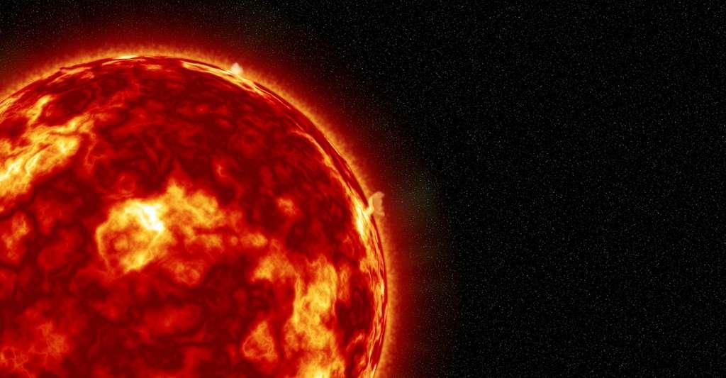 Les astronomes ont découvert que les interactions entre vents interstellaires et solaires étaient plus complexes que ce qu'ils avaient imaginé. Voyager 2 a par ailleurs observé une héliopause — c'est ainsi que les spécialistes nomment la limite de l'héliosphère — plus fine et nette — elle a été franchie en seulement une journée — que celle observée par Voyager 1. Peut-être parce que cette dernière s'est présentée du côté de l'héliopause au moment d'un maximum d'activité solaire. © Buddy_Nath, Pixabay License