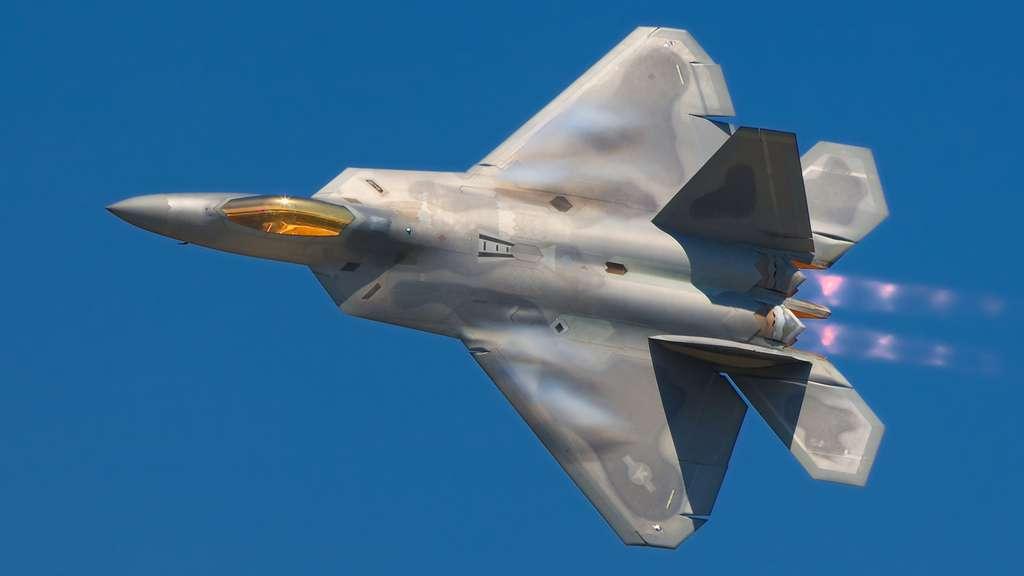 Un Lockheed Martin F-22 Raptor