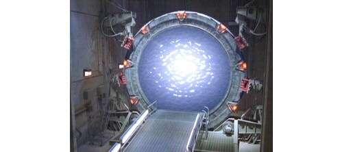 La matière au centre de la porte des étoiles n'est désormais plus un mystère pour vous ! © DR