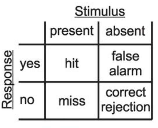 Les réponses possibles à l'expérience menée sur les corneilles. © Adreas Nieder et al. Science