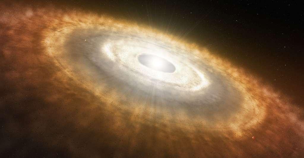 Notre Univers est-il un système quantique ? Ici, une vue d'artiste d'un bébé étoile. © L. Calçada, ESO, CC by 4.0