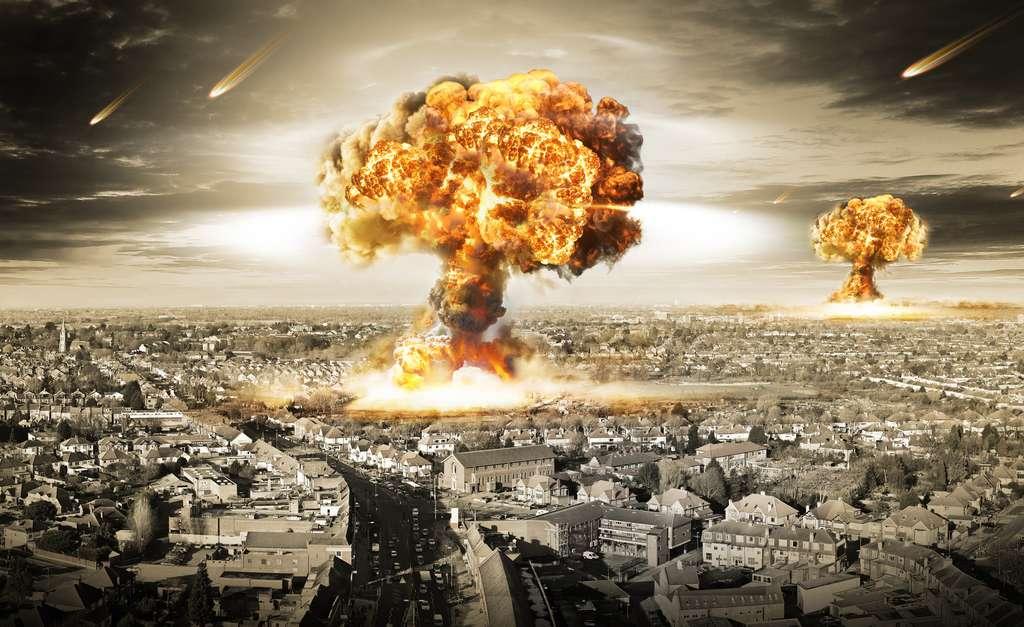 Avec 14.000 armes nucléaires dans le monde, un conflit généralisé pourrait détruire la planète. © twindesigner, Fotolia