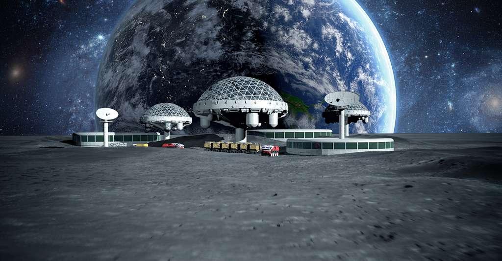 D'où vient la glace d'eau sur la Lune? Depuis quand est-elle là?