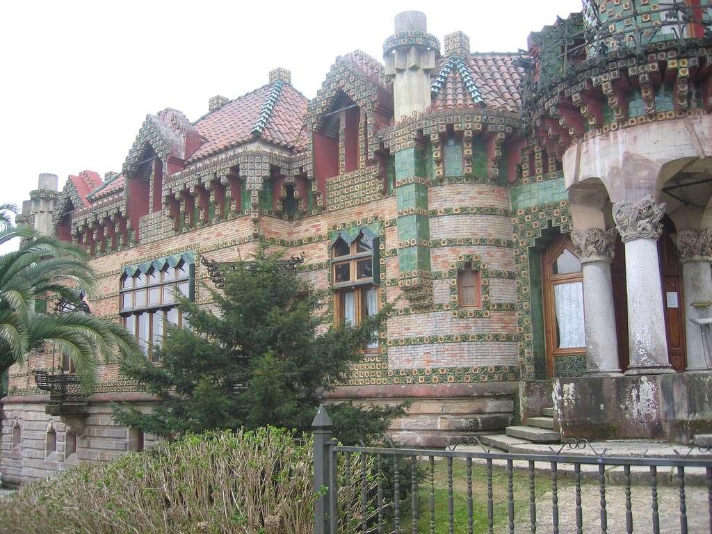 Le Caprice de Gaudí, à Comillas, en Espagne