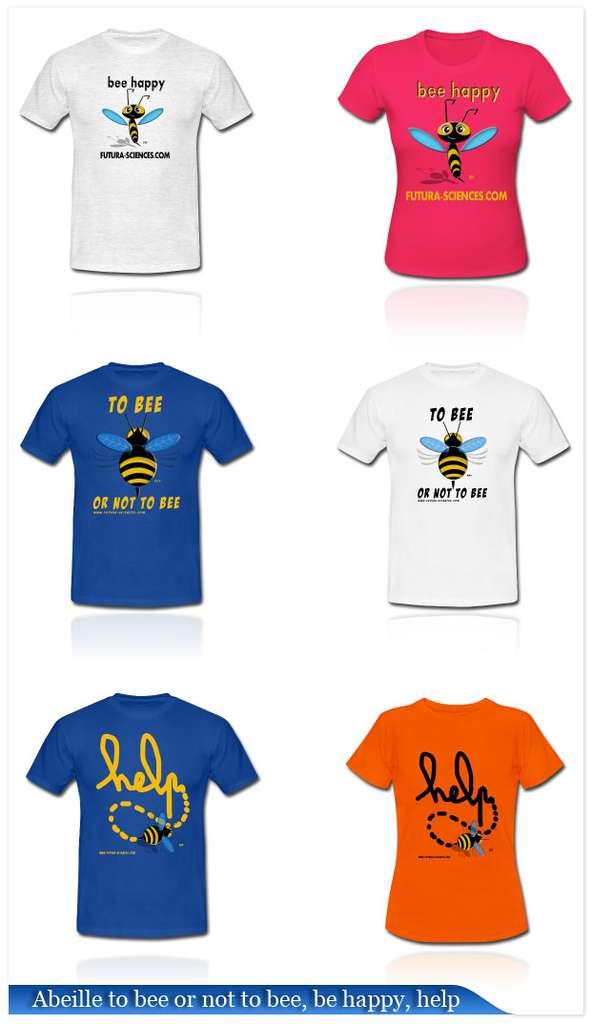 Cliquez pour accéder à la boutique des T-shirts abeilles