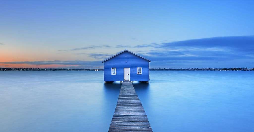 Coucher de soleil à Perth, en Australie. © Sara Winter, Shutterstock