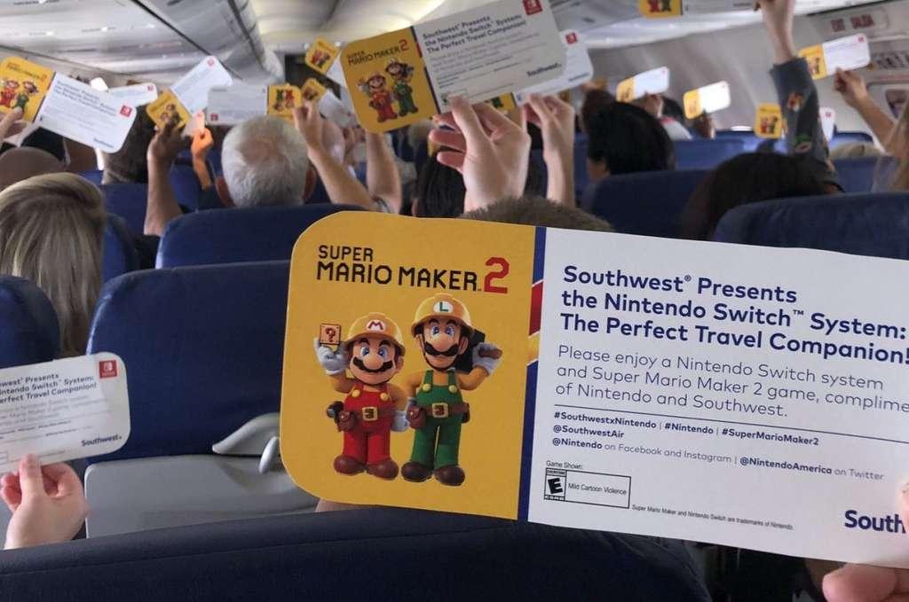 Ce cadeau célébrait un partenariat entre la SouthWest Airlines et Nintendo. © DualShockers