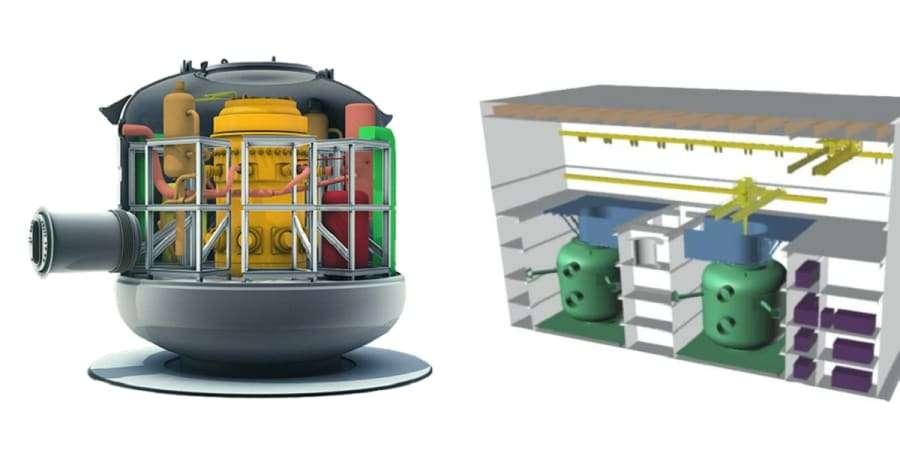 Le projet de SMR français Nuward, développé par TechnicAtome, est soutenu par EDF et le Commissariat à l'énergie atomique. © TechnicAtome