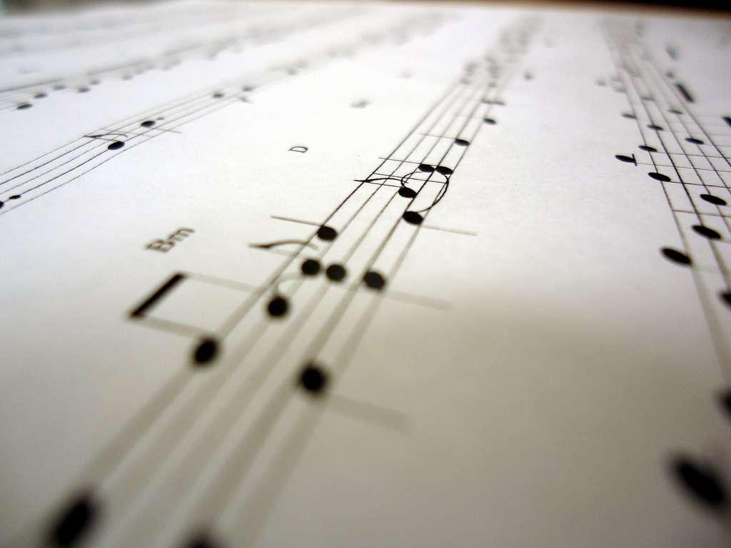 Faudra-t-il écrire la poésie sur des partitions, comme pour la musique, puisque les deux activent les mêmes zones du cerveau ? © Brandon Giesbrecht, Flickr, cc by sa 2.0