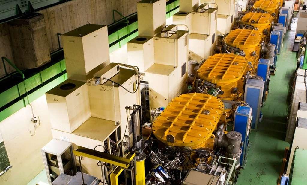 Une vue du RILAC, l'accélérateur linéaire du laboratoire Riken et qui a été utilisé pour produire l'élément 113. © Nishina Center for Accelerator-Based Science