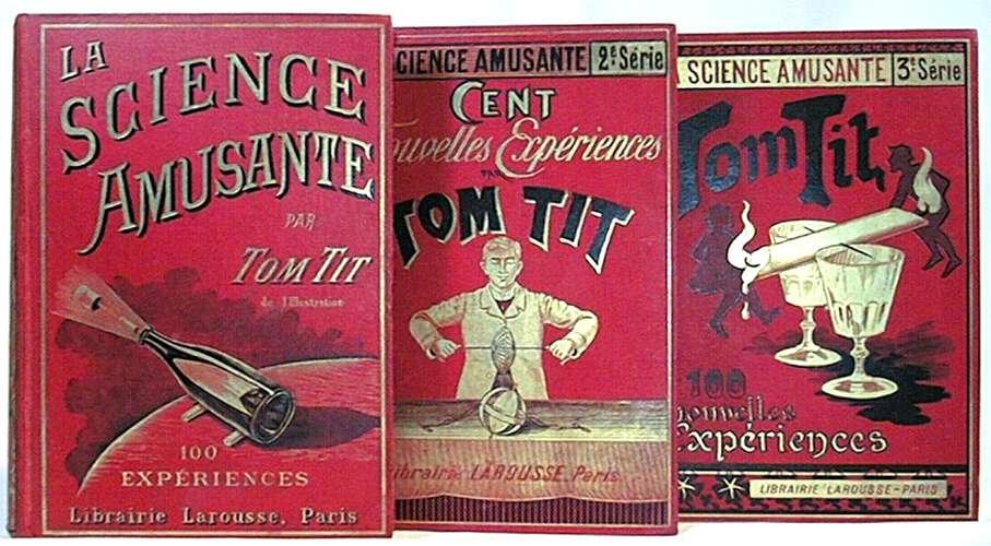 La Science amusante de Tom Tit, revue dans laquelle est parue l'expérience de l'œuf valseur. © DR