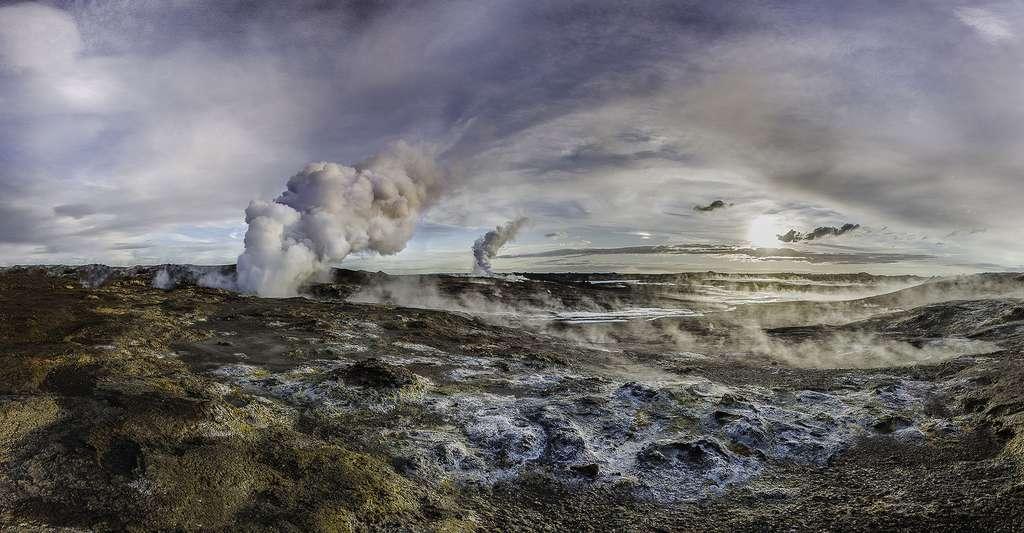 L'Islande possède de très nombreuses sources d'eau chaude. © Geo Thermal, CC by-nc 2.0