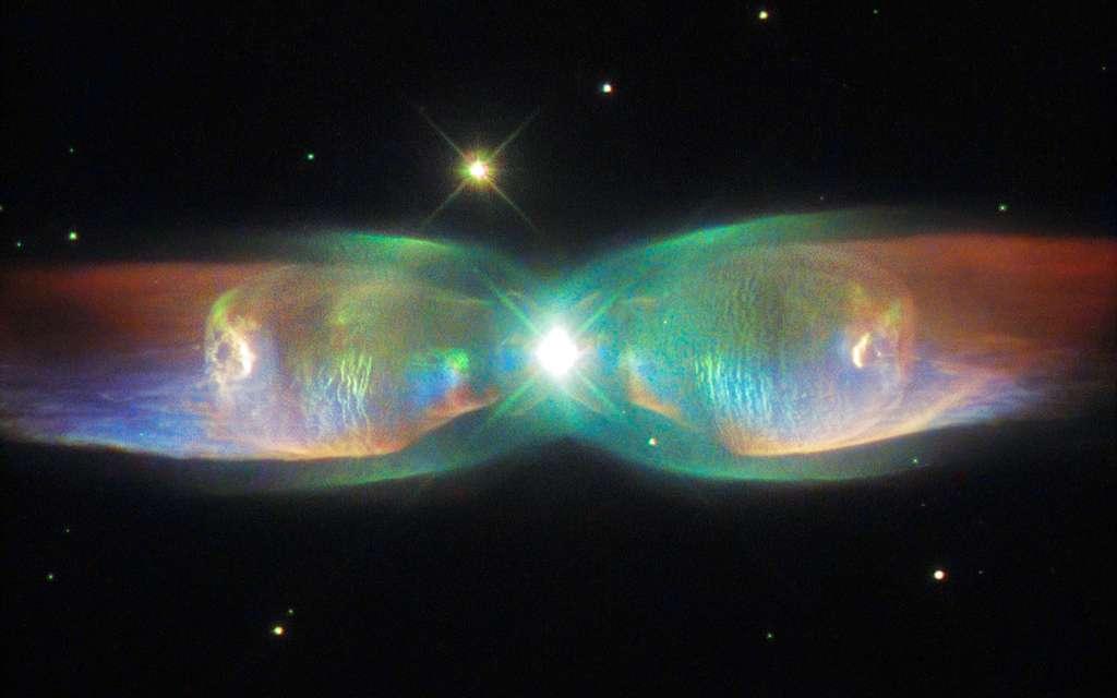 La nébuleuse aux jets jumeaux