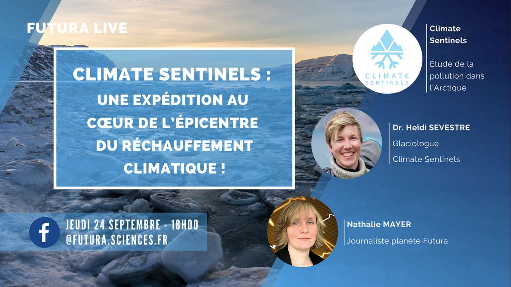 Heïdi Sevestre, l'une des Climate Sentinels, sera l'invitée du prochain live Facebook de Futura. © Futura