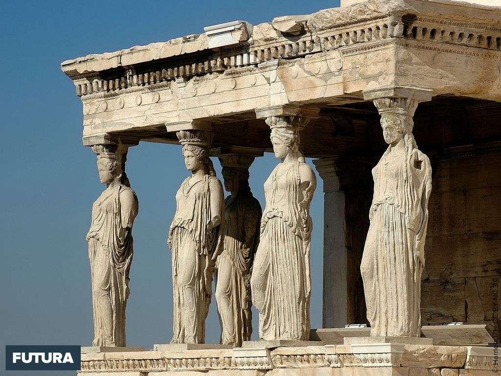 Les Caryatides sur l'Acropole - Gréce