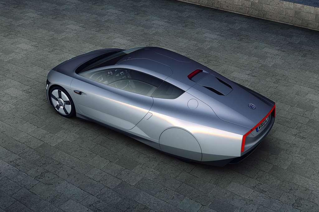 L'aérodynamisme très étudié contribue à la faible consommation. © Volkswagen