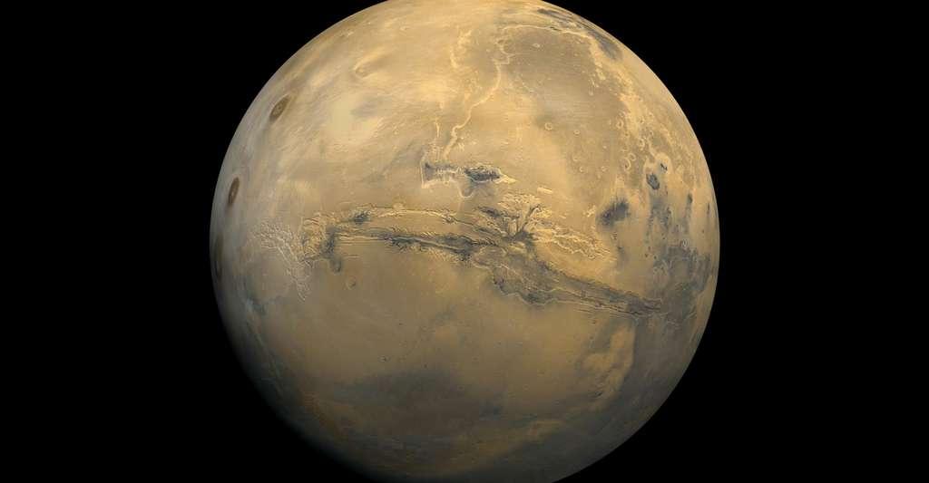 La pratique du football sur la planète Mars a fait l'objet d'un article dans une publication de l'université de Leicester. © Nasa