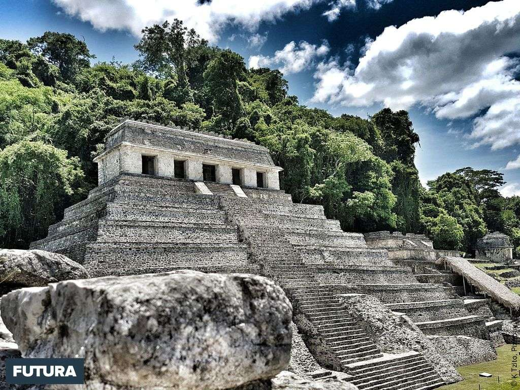 Temple Maya de Palenque, Patrimoine mondial de l'UNESCO