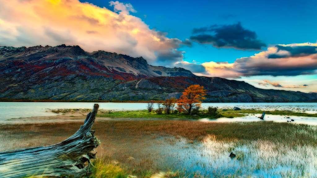 Patagonie : l'incroyable lac du désert