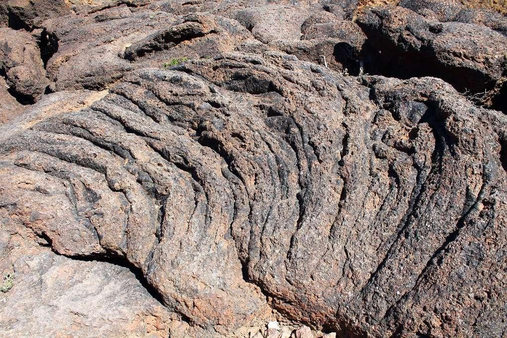 Basaltes largement altérés. © Michael Grund, imaggeo.egu.eu