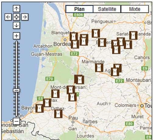 Les bastides d'Aquitaine, très nombreuses au Moyen Âge, n'ont pas toutes résisté au passage du temps mais il en reste quelques-unes à visiter. © Site officiel du tourisme Aquitaine