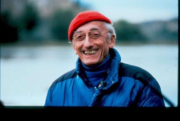Jacques-Yves Cousteau dans les années 1990. © The Cousteau Society