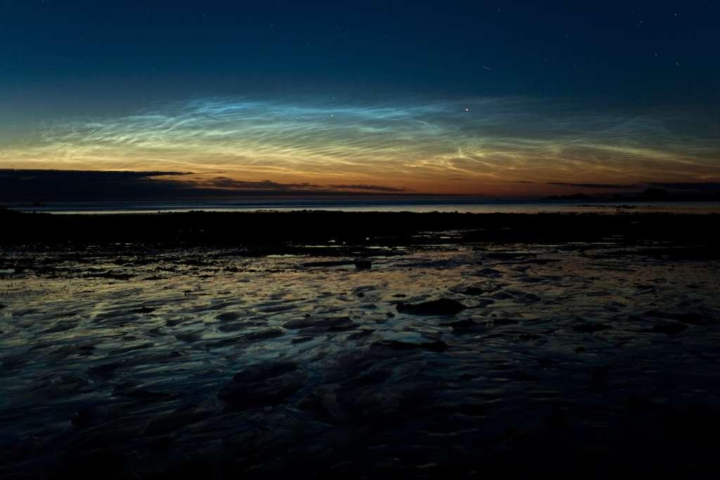 Nuages noctiluques en Bretagne
