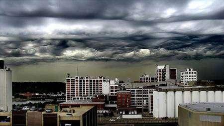 Cedar Rapids, Iowa. Source : Cloud Appreciation Society / Jane Wiggins. Cliquer pour agrandir.