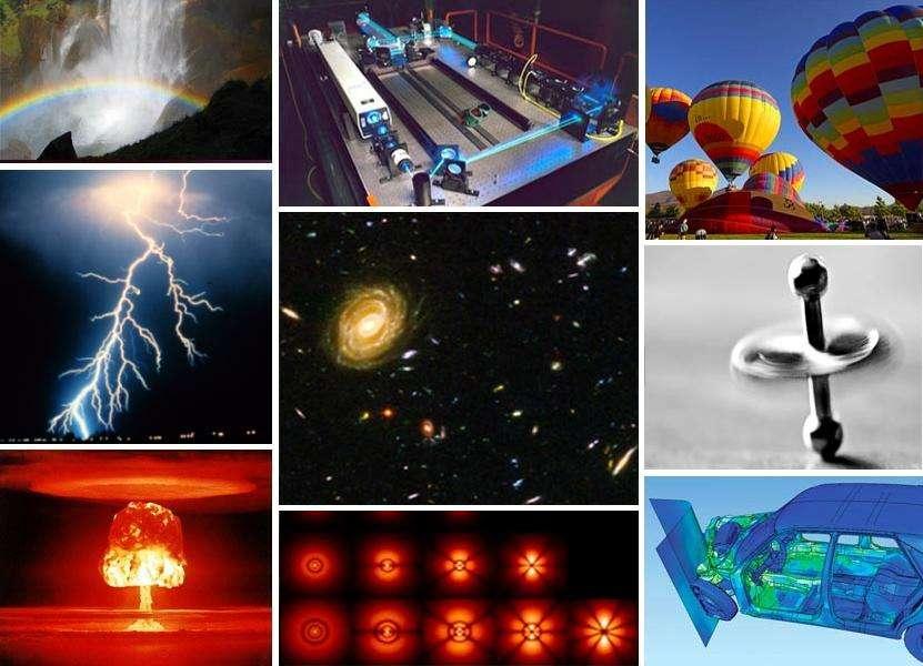 Nous sommes entourés d'exemples auxquels s'appliquent les règles de la physique. Clifford A. Pickover nous propose une sélection des grandes étapes de la physique dans son ouvrage Le beau livre de la physique. © Aushulz, Wikimedia Commons, cc by sa 3.0