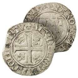 La monnaie argent sous Charles VI. © Coll. de France, Google images
