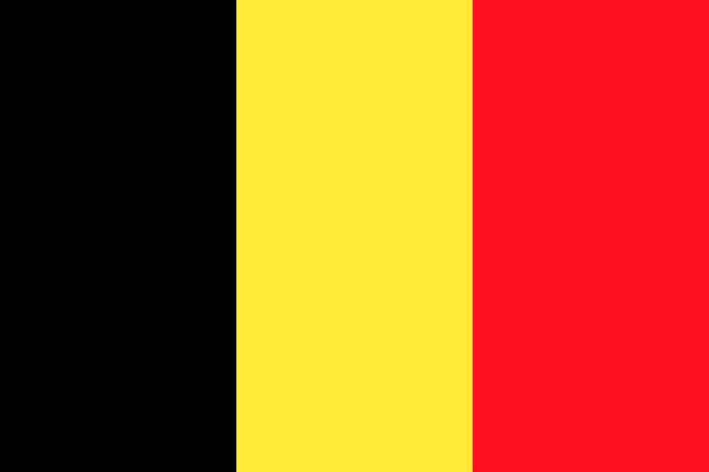 Les couleurs du drapeau belge (noir, jaune, rouge) sont celles de l'écu de l'ancien duché de Brabant. © OpenClipartVectors, Pixabay, DP