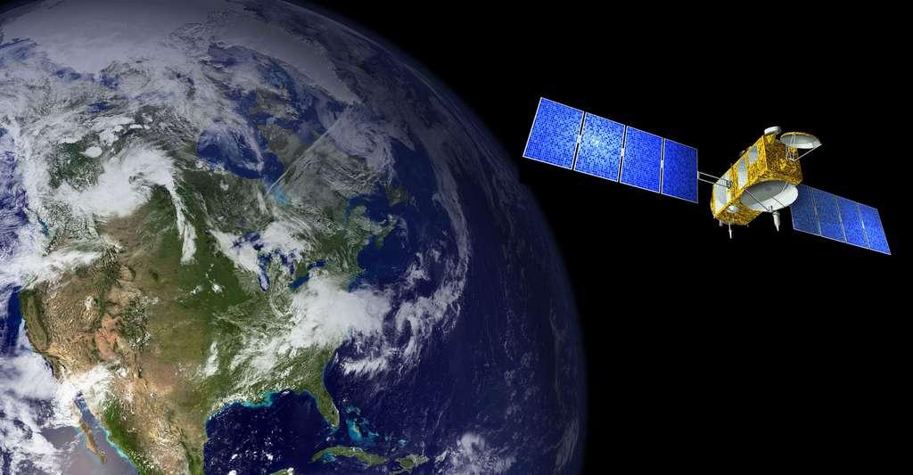 Le Satellite Jason-1 est un satellite d'altimétrie satellitale. © WikiImages + NASA CCO
