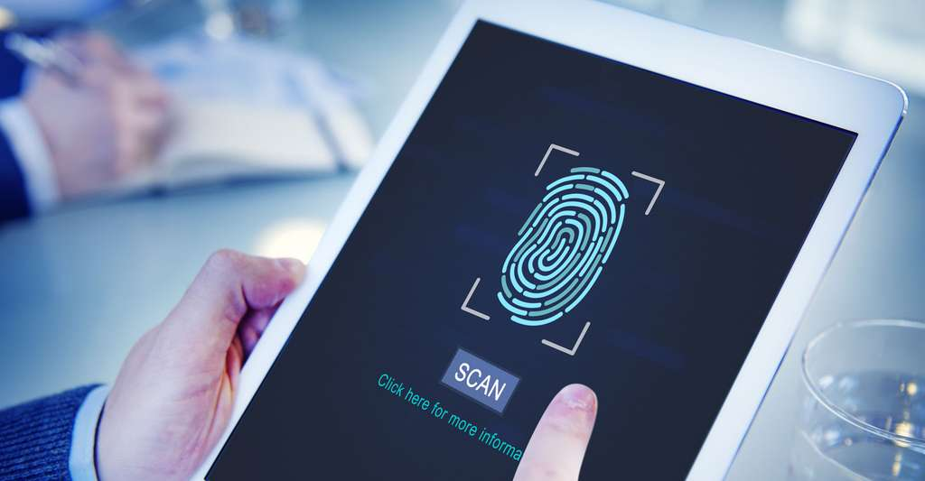 Qu'est-ce que la reconnaissance digitale ? Ici, un détecteur d'empreintes digitales. © Rawpixel.com, Shutterstock