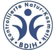 L'écolabel allemand BDIH indique un produit ne contenant que des substances naturelles. © BDIH